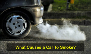 what causes a car to smoke